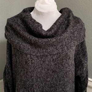 Nine West Jeans Cowl Neck Sweater, Sz XL